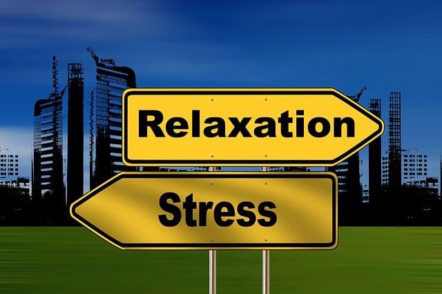 ストレスよりリラックスを選択